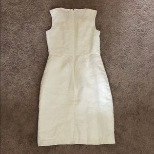 Brooks Brothers Dresses - White linen dress by brooks brothers
